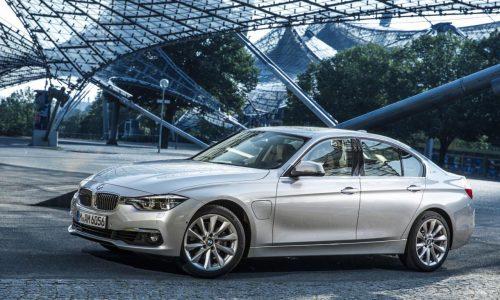 BMW 330e plug-in hybrid unveiled, uses 2.1L/100km