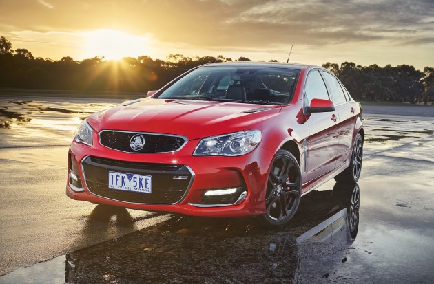 2016 Holden Commodore VF II SS-front