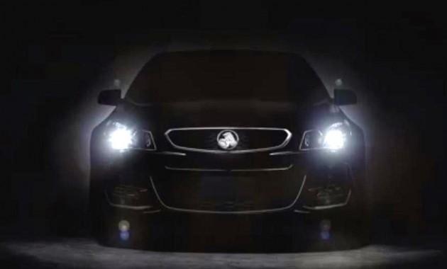 2016 Holden Commodore VF II-teaser