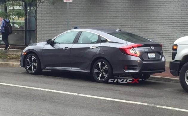 2016 Honda Civic sedan-rear