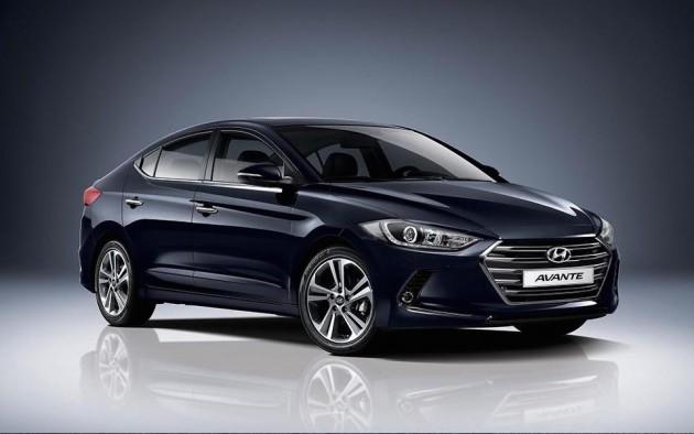 2016 Hyundai Elantra-South Korea
