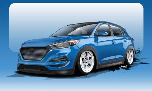 Bisimoto creating 500kW Hyundai Tucson for SEMA