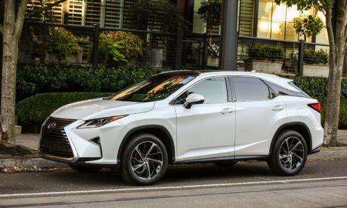 2016 Lexus RX lineup confirmed for Australia, arrives November