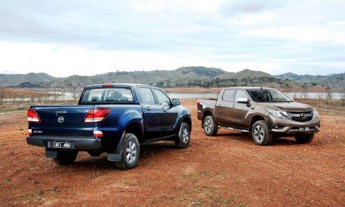 2016 Mazda BT-50 on sale in Australia from $25,570