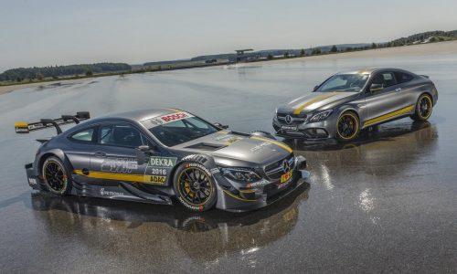 2016 Mercedes-AMG C 63 Coupe DTM racer revealed