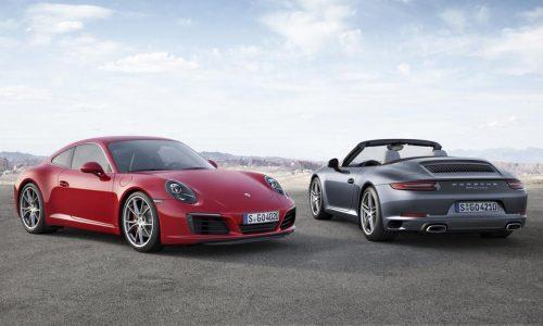 2016 Porsche 911 '991.2' revealed, gets new 3.0L bi-turbo engine