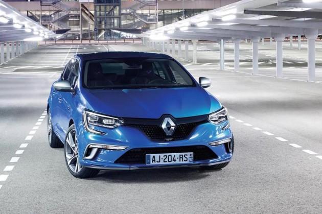2016 Renault Megane GT-front