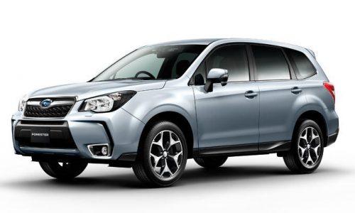 2016 Subaru Forester facelift leaks online