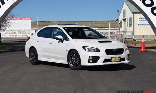 2016 Subaru WRX STI review – track test (video)