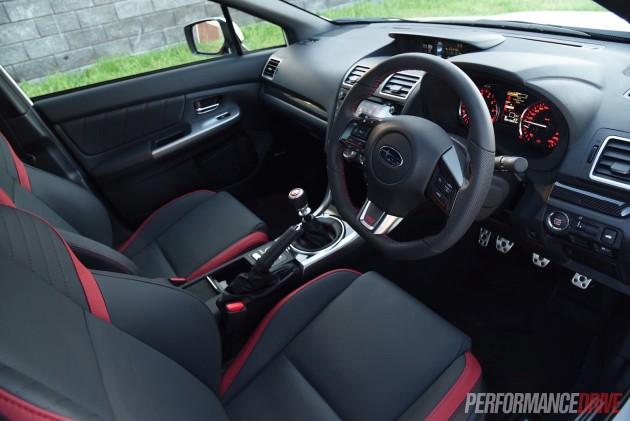2016 Subaru WRX STI Premium-interior