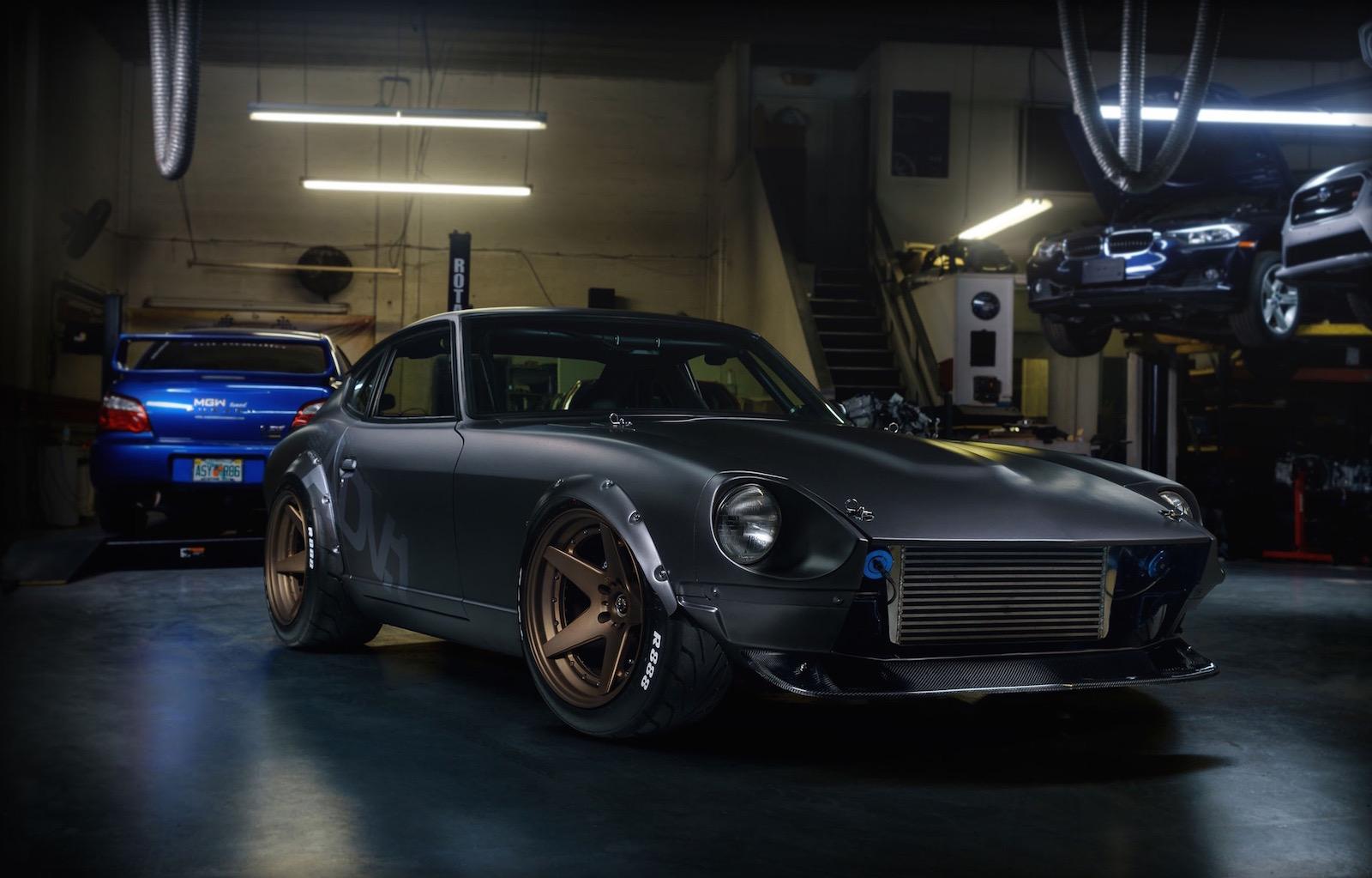 Adv 1 Datsun 280z Gets Mean 2jz Engine Conversion Video