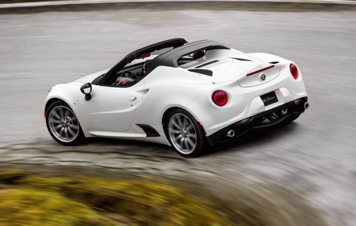Alfa Romeo Stelvio Steering Wheel >> Alfa Romeo 4C Spider on sale in Australia from $99,000   PerformanceDrive
