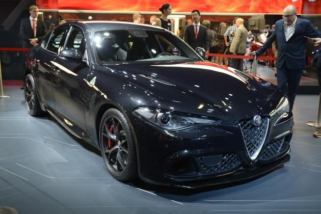 Alfa Romeo Giulia QV black
