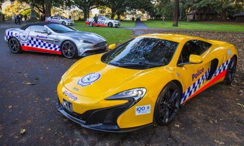 McLaren 650S & Aston Martin Vanquish join NSW Police Force
