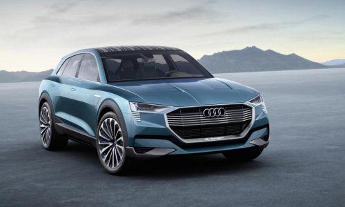 Audi e-tron quattro concept revealed, previews 2018 electric SUV