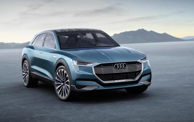 Audi e-tron quattro concept-front