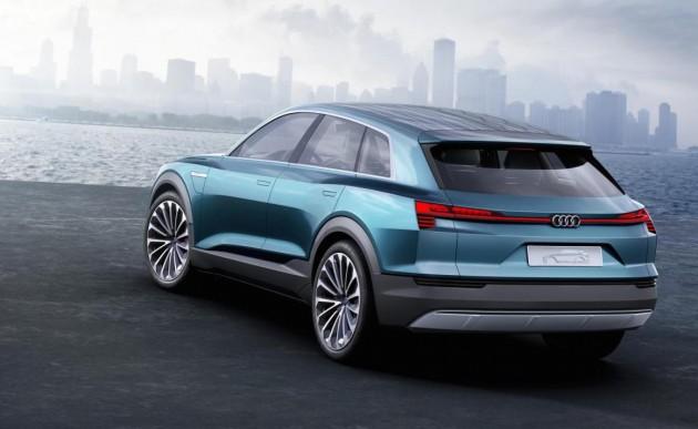 Audi e-tron quattro concept-rear