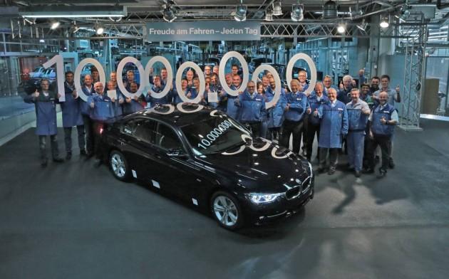 BMW 3 Series 10 million production