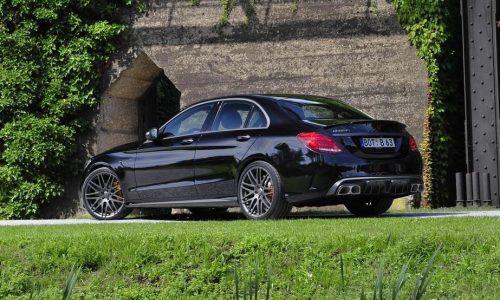 BRABUS Mercedes C 63 AMG upgrade destined for Frankfurt