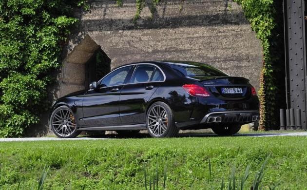 BRABUS Mercedes-AMG C 63-rear