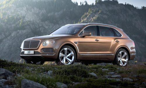 Bentley Bentayga revealed online (official)