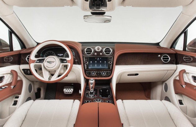Bentley Bentayga-interior colour