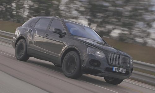 Bentley Bentayga is world's fastest SUV; 301km/h (video)