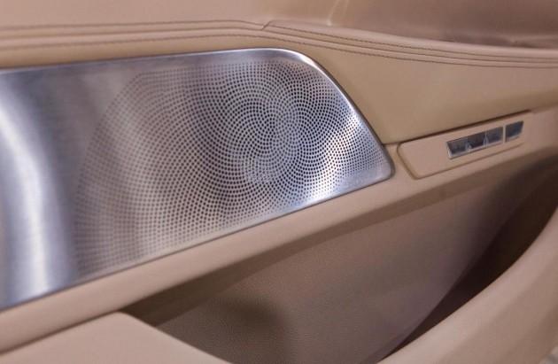 Bowers and Wilkins diamond-BMW 7 Series