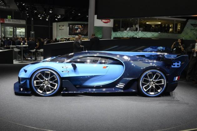 Bugatti Vision Gran Turismo-2015 Frankfurt Motor Show