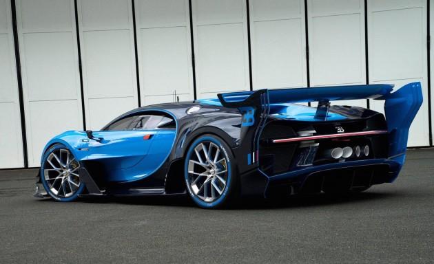 Bugatti Vision Gran Turismo-back