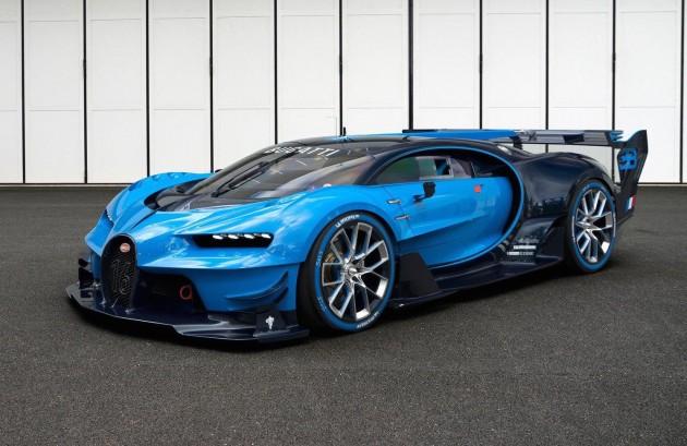 Bugatti Vision Gran Turismo-blue