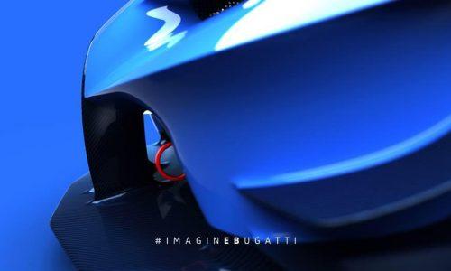 Bugatti Vision Gran Turismo concept previewed some more