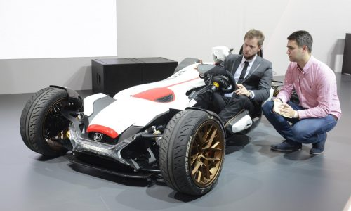 Honda 2&4 concept revealed, possible KTM X-Bow rival?