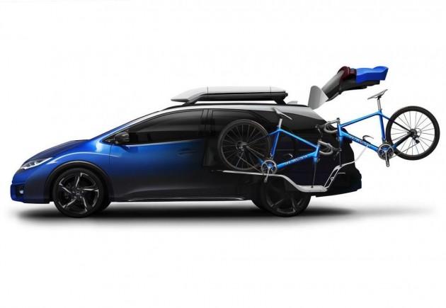 Honda Civic Tourer Active Life concept-cycling
