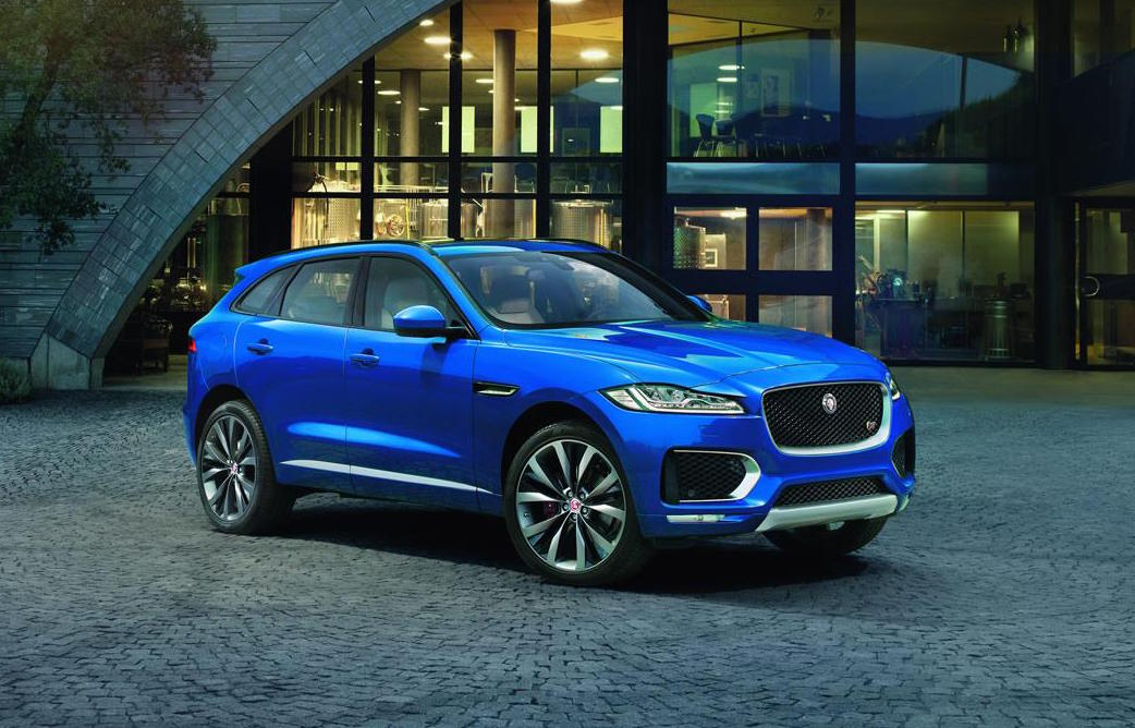 Jaguar F-PACE officially unveiled, 280kW V6 for top model ...