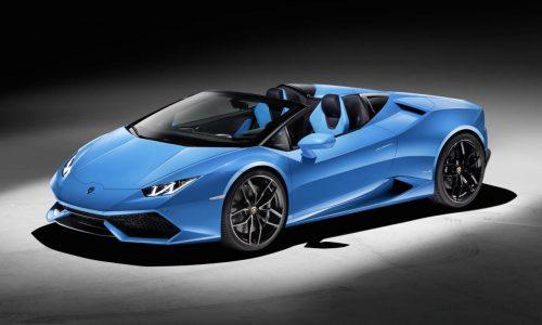 Lamborghini Huracan Spyder revealed, on sale in Australia from $470,800