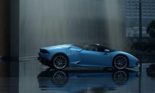 Video: Lamborghini Huracan Spyder 'owns the sky'