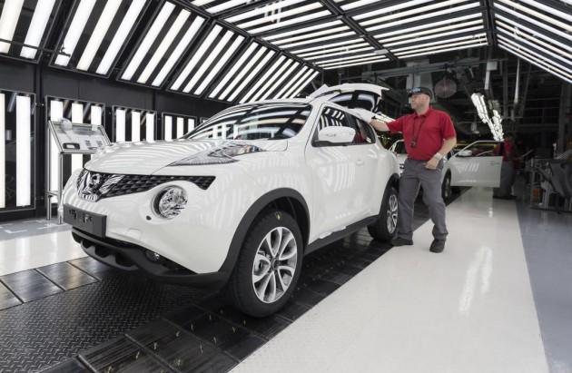 Nissan Juke production-Sunderland