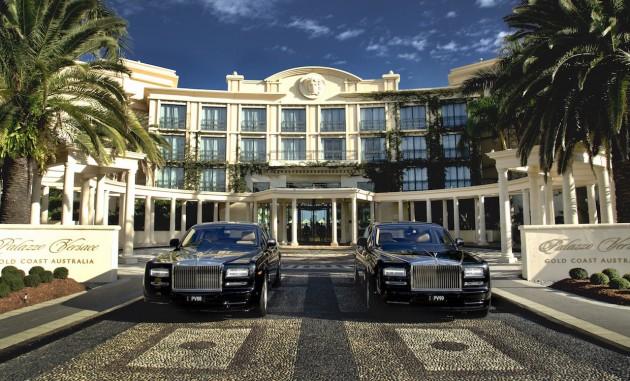 Palazzo Versace Rolls-Royce Phantom