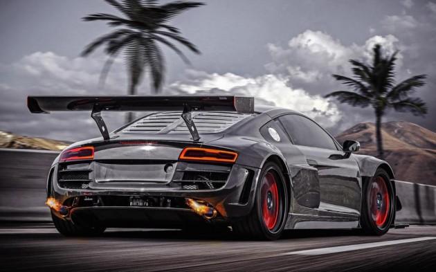 RECON Audi R8 V10-rear