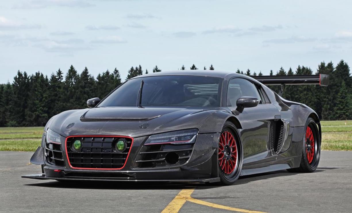 Mental Recon Audi R8 V10 Gets Rwd Conversion