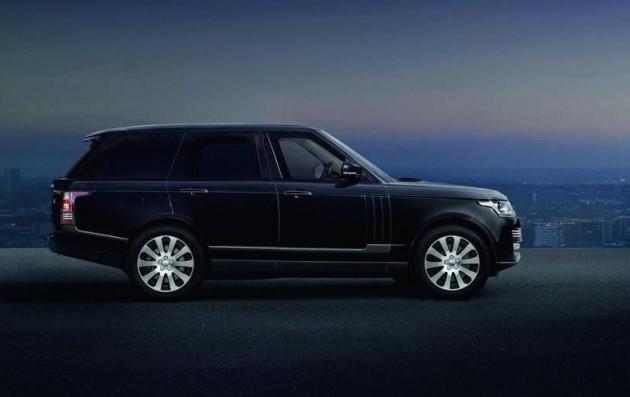 Range Rover Sentinel-side