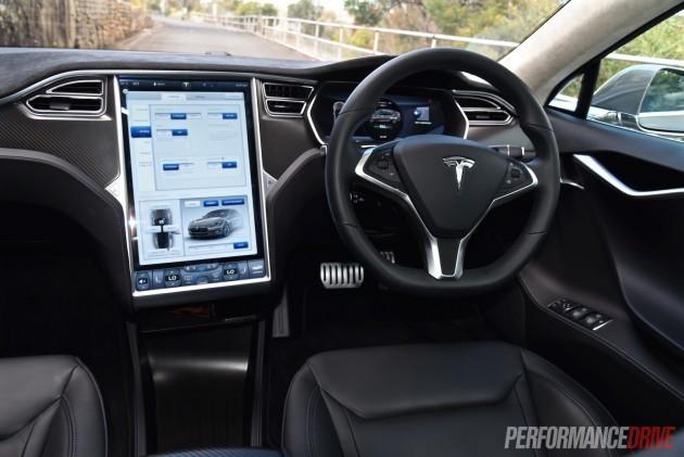Tesla Model S P85D-dash