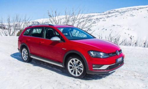 Volkswagen Golf Alltrack on sale in Australia from $37,990