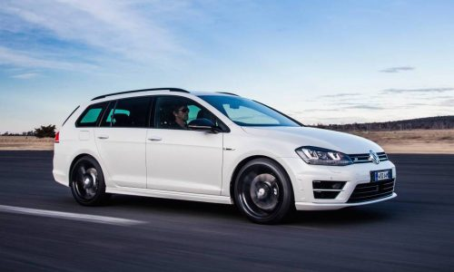 Volkswagen Golf R wagon special edition now on sale