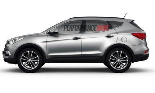 Hyundai Santa Fe Series II facelift gets revised engines, more equipment