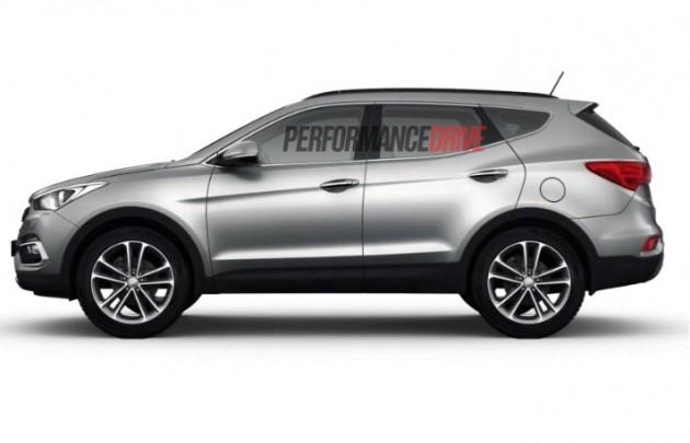 2015 Hyundai Santa Fe Series II-side