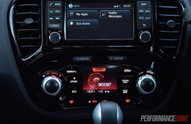 2015 Nissan Juke Ti-S-sport mode