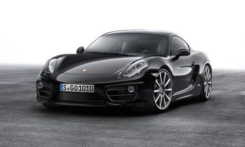 Porsche Cayman Black Edition now on sale in Australia