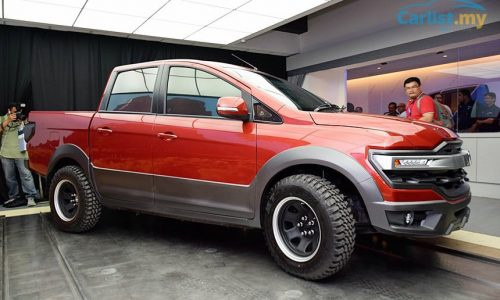 Proton reveals interesting pickup ute concept at Alami Carnival